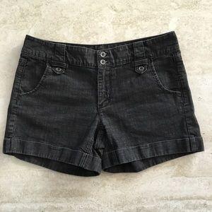 White House Black Market Black Jean Shorts - Sz 10